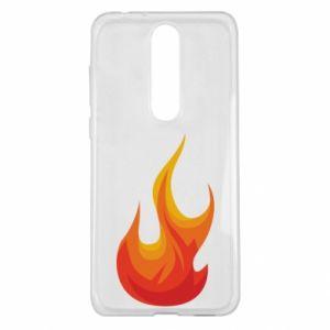 Etui na Nokia 5.1 Plus Bright flame