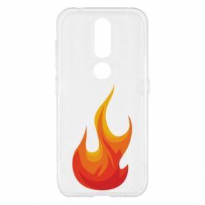 Etui na Nokia 4.2 Bright flame
