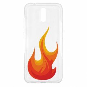 Etui na Nokia 2.3 Bright flame