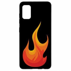 Etui na Samsung A41 Bright flame