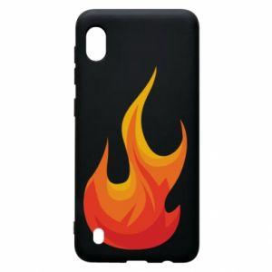 Etui na Samsung A10 Bright flame