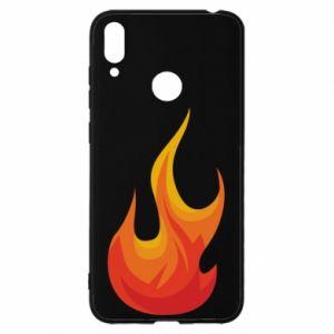 Etui na Huawei Y7 2019 Bright flame