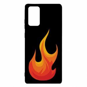 Etui na Samsung Note 20 Bright flame