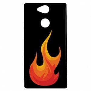 Etui na Sony Xperia XA2 Bright flame