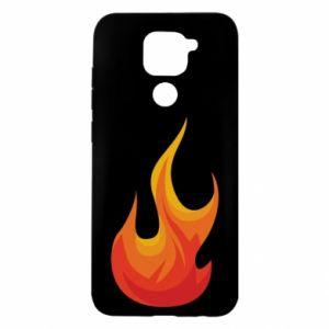 Etui na Xiaomi Redmi Note 9/Redmi 10X Bright flame