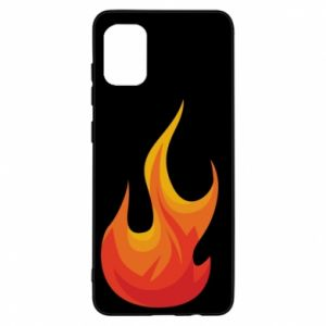 Etui na Samsung A31 Bright flame