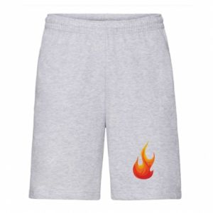 Men's shorts Bright flame - PrintSalon