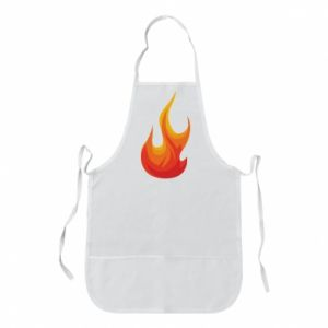 Apron Bright flame - PrintSalon