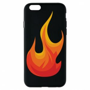 Phone case for iPhone 6/6S Bright flame - PrintSalon