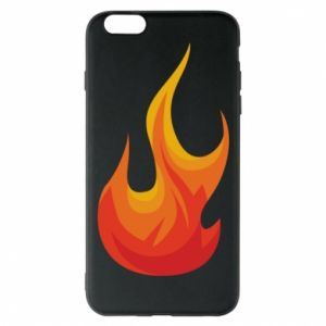 Phone case for iPhone 6 Plus/6S Plus Bright flame - PrintSalon