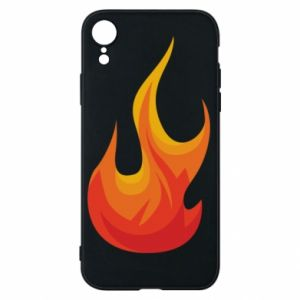 Phone case for iPhone XR Bright flame - PrintSalon