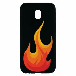 Phone case for Samsung J3 2017 Bright flame - PrintSalon