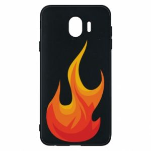 Phone case for Samsung J4 Bright flame - PrintSalon