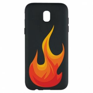 Phone case for Samsung J5 2017 Bright flame - PrintSalon