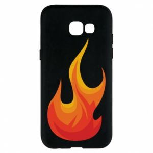 Phone case for Samsung A5 2017 Bright flame - PrintSalon