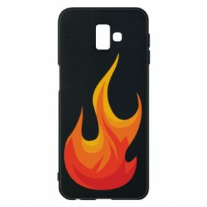 Phone case for Samsung J6 Plus 2018 Bright flame - PrintSalon