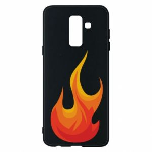 Phone case for Samsung A6+ 2018 Bright flame - PrintSalon