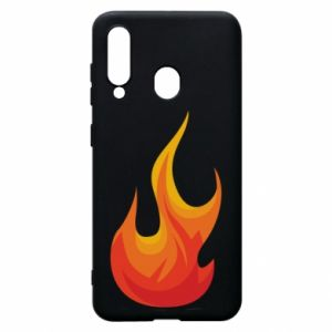 Phone case for Samsung A60 Bright flame - PrintSalon