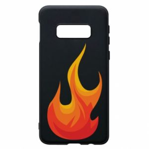 Phone case for Samsung S10e Bright flame - PrintSalon