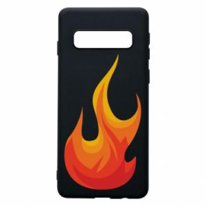 Phone case for Samsung S10 Bright flame - PrintSalon