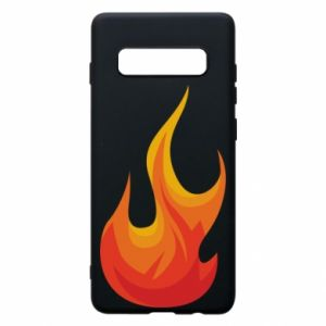 Phone case for Samsung S10+ Bright flame - PrintSalon