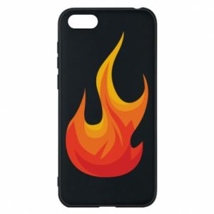 Phone case for Huawei Y5 2018 Bright flame - PrintSalon