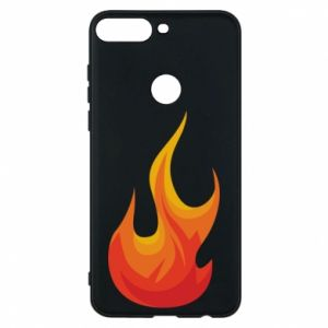 Phone case for Huawei Y7 Prime 2018 Bright flame - PrintSalon