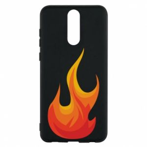 Phone case for Huawei Mate 10 Lite Bright flame - PrintSalon