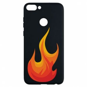 Phone case for Huawei P Smart Bright flame - PrintSalon