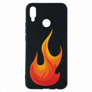 Phone case for Huawei P Smart Plus Bright flame - PrintSalon
