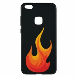 Phone case for Huawei P10 Lite Bright flame - PrintSalon