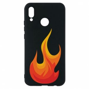 Phone case for Huawei P20 Lite Bright flame - PrintSalon