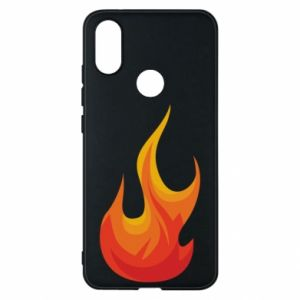 Phone case for Xiaomi Mi A2 Bright flame - PrintSalon