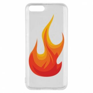 Phone case for Xiaomi Mi6 Bright flame - PrintSalon