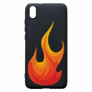 Phone case for Xiaomi Redmi 7A Bright flame - PrintSalon