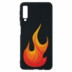 Phone case for Samsung A7 2018 Bright flame - PrintSalon
