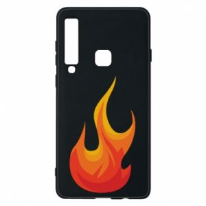 Phone case for Samsung A9 2018 Bright flame - PrintSalon
