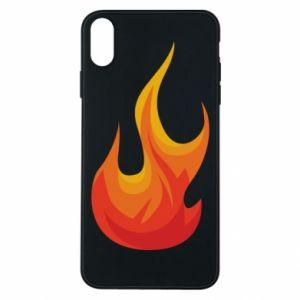 Etui na iPhone Xs Max Bright flame