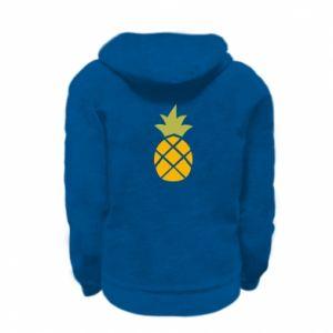 Bluza na zamek dziecięca Bright pineapple