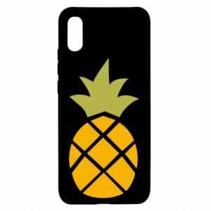 Etui na Xiaomi Redmi 9a Bright pineapple