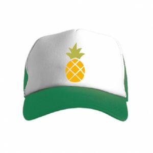 Czapka trucker dziecięca Bright pineapple