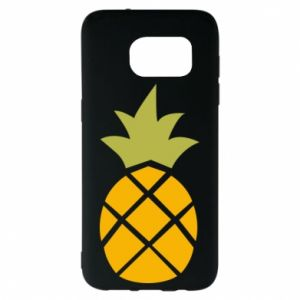 Etui na Samsung S7 EDGE Bright pineapple