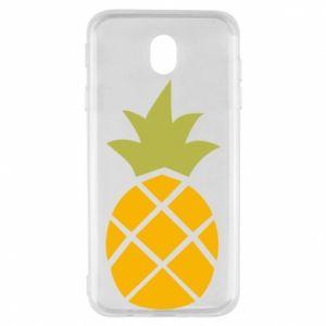 Etui na Samsung J7 2017 Bright pineapple