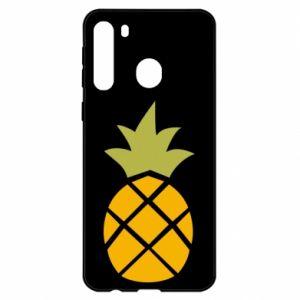 Etui na Samsung A21 Bright pineapple