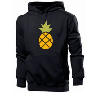 Męska bluza z kapturem Bright pineapple