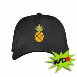 Czapeczka z daszkiem dziecięca Bright pineapple