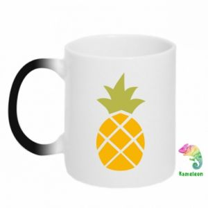 Kubek-kameleon Bright pineapple