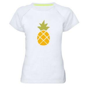 Koszulka sportowa damska Bright pineapple