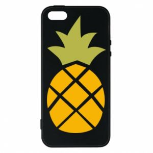 Etui na iPhone 5/5S/SE Bright pineapple