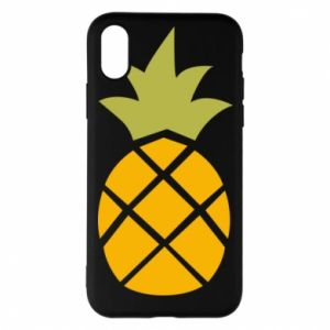 Etui na iPhone X/Xs Bright pineapple